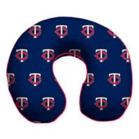 MLB Minnesota Twins Plush Microfiber Travel Pillow