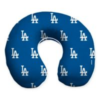 MLB Los Angeles Dodgers Plush Microfiber Travel Pillow