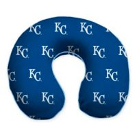 MLB Kansas City Royals Plush Microfiber Travel Pillow