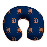 MLB Detroit Tigers Plush Microfiber Travel Pillow