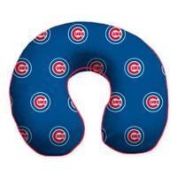 MLB Chicago Cubs Plush Microfiber Travel Pillow