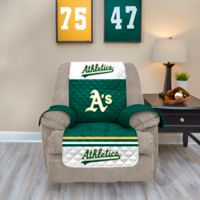 MLB Oakland Athletics Recliner Protector