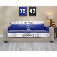 MLB Colorado Rockies Sofa Cover