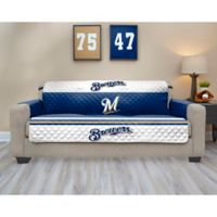 MLB Milwaukee Brewers Sofa Cover