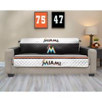 MLB Miami Marlins Sofa Cover