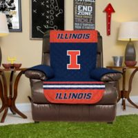 University of Illinois Recliner Cover