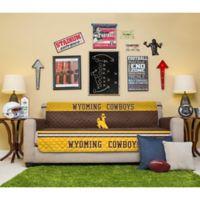 University of Wyoming Sofa Cover