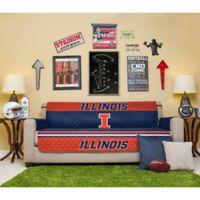 University of Illinois Sofa Cover