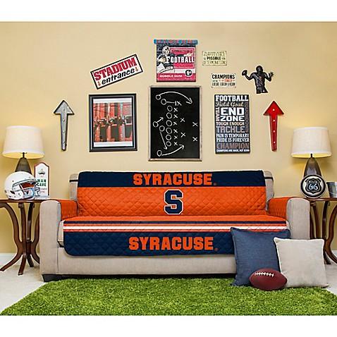 syracuse university sofa cover bed bath beyond