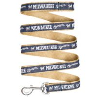 MLB Milwaukee Brewers Large Pet Leash