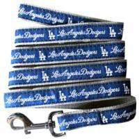 MLB Los Angeles Dodgers Medium Pet Leash