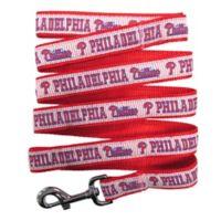 MLB Philadelphia Phillies Medium Pet Leash