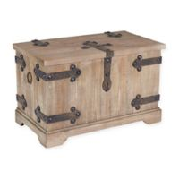 Household Essentials® Victorian Small Storage Trunk in Brown