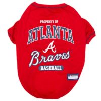 MLB X-Small Atlanta Braves Dog T-Shirt