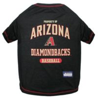 MLB Medium Arizona Diamondbacks Dog T-Shirt
