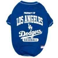 MLB X-Small Los Angeles Dodgers Dog T-Shirt