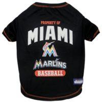 MLB Medium Miami Marlins Dog T-Shirt