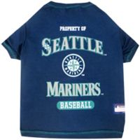 MLB Small Seattle Mariners Dog T-Shirt