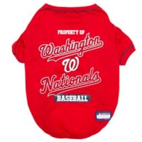 MLB Small Washington Nationals Dog T-Shirt
