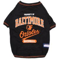 MLB Medium Baltimore Orioles Dog T-Shirt