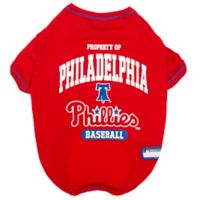 MLB Medium Philadelphia Phillies Dog T-Shirt