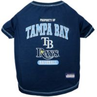 MLB Small Tampa Bay Rays Dog T-Shirt