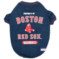 MLB X-Large Boston Red Sox Dog T-Shirt