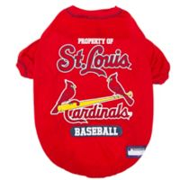 MLB Small St. Louis Cardinals Dog T-Shirt