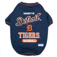 MLB Small Detroit Tigers Dog T-Shirt
