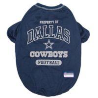 NFL Dallas Cowboys Large Pet T-Shirt