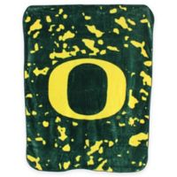 University of Oregon Oversized Soft Raschel Throw Blanket