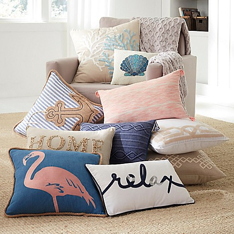 Coastal Living Pillows And Throws Bed Bath Amp Beyond