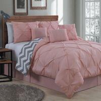 Avondale Manor Ella King Comforter Set in Blush