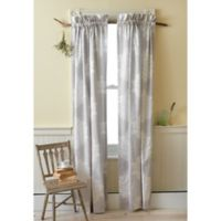 Sanderson Amelia Rose 81-Inch Rod Pocket Window Curtain Panel Pair in Purple