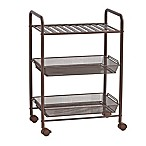 SALT™ 3-Tiered Bathroom Cart in Oil Rubbed Bronze