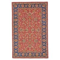 Feizy Abbey Alexandra 5-Foot x 8-Foot Area Rug in Red/Navy
