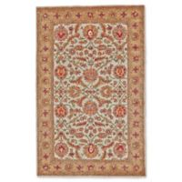 Feizy Abby 5-Foot x 8-Foot Area Rug in Ivory/Light Gold