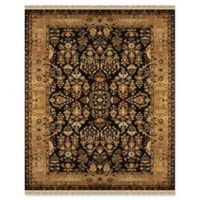 Feizy Alegra 2-Foot x 3-Foot Accent Rug in Black