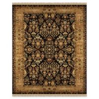 Feizy Alegra 5-Foot x 8-Foot Area Rug in Black