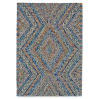 Feizy Kyara 3-Foot 6-Inch x 5-Foot 6-Inch Confetti Area Rug in Blue