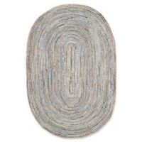 Safavieh Cape Cod Classic 6-Foot x 9-Foot Area Rug in Natural/Blue