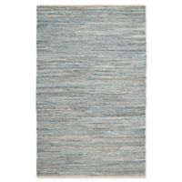 Safavieh Cape Cod Zigzag 6-Foot x 9-Foot Area Rug in Natural/Blue