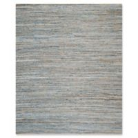 Safavieh Cape Cod Zigzag 8-Foot x 10-Foot Area Rug in Natural/Blue
