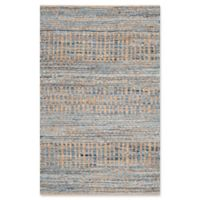 Safavieh Cape Cod Tribal 2-Foot 3-Inch x 4-Foot Accent Rug in Natural/Blue