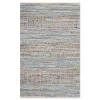 Safavieh Cape Cod Tribal 4-Foot x 6-Foot Area Rug in Natural/Blue