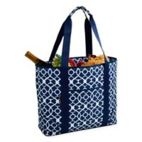 Picnic at Ascot Trellis X-Large Insulated Cooler Tote in Blue