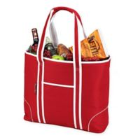 Picnic at Ascot X-Large Insulated Cooler Tote in Red