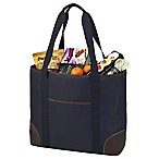 Picnic At Ascot™ X-Large Insulated Cooler Tote in Navy/Brown
