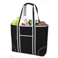 Picnic at Ascot X-Large Insulated Cooler Tote in Black