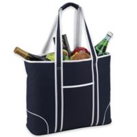 Picnic at Ascot X-Large Insulated Cooler Tote in Navy